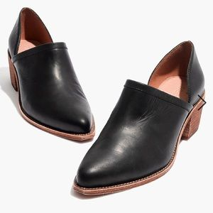 {Madewell} Brady Lowcut Leather Booties Size 7